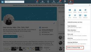 Etape 3 comment créer une page entreprise sur Linkedin