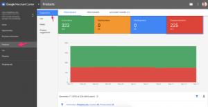 Google merchant center diagnostic