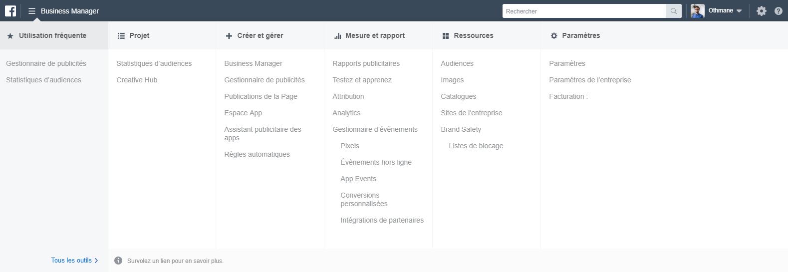 Facebook Business manager créer et gérer