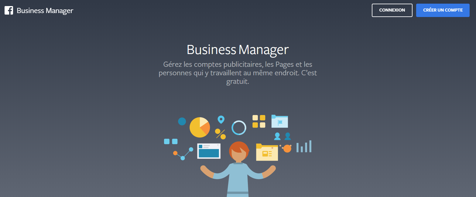 Facebook Business Manager Page connexion