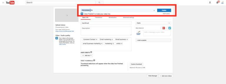 Téléchargement YouTube
