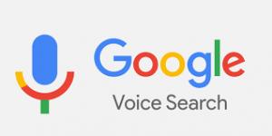 recherche vocale de Google