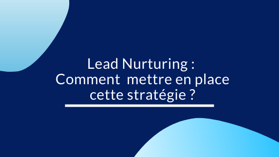 Lead Nurturing Comment  mettre en place cette stratégie ?