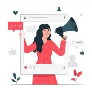 illustration marketing influence